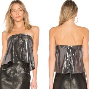 McGuire   Cropped Bustier Top